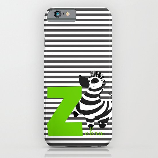 z for zebra iPhone & iPod Case