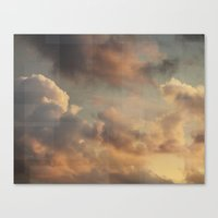Clouds From Heaven Canvas Print