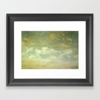 Margate Sky Framed Art Print