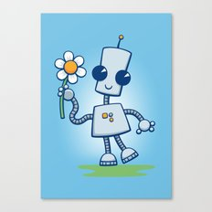 Ned's Flower Canvas Print