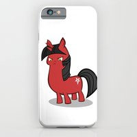 My small sized satanic duplicorn horse iPhone 6 Slim Case