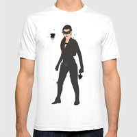 The Dark Knight: Catwoma… Mens Fitted Tee White SMALL