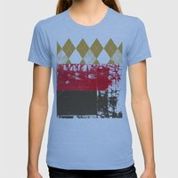 The King Womens Fitted Tee Athletic Blue SMALL