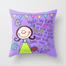Twinkle in Your Eye Throw Pillow