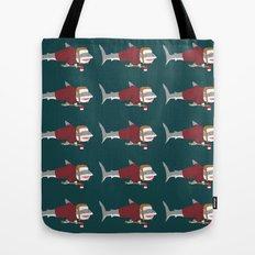 Shark LumberJack Tote Bag