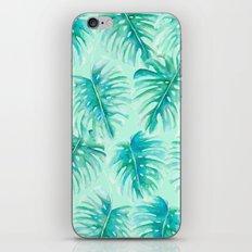 Paradise Palms Mint iPhone & iPod Skin