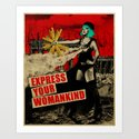 Express Your Womankind Art Print