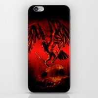 SWITCHBLADE VULTURE iPhone & iPod Skin