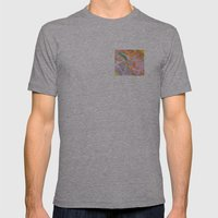 Coral Reef Mens Fitted Tee Athletic Grey SMALL