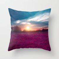 Sunset I C. Throw Pillow