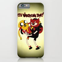 It's Wrestling Time!  iPhone 6 Slim Case