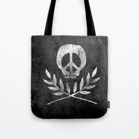 Peace Is Death Tote Bag