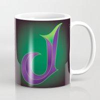 Alphabet J Mug