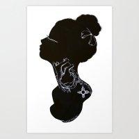 Porter Art Print