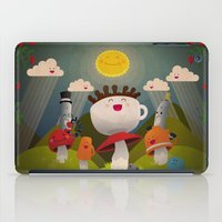 Jolly Coffeesburg (Soy, venti, vanilla latte, sugar-free) iPad Case