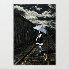 I missed you Canvas Print
