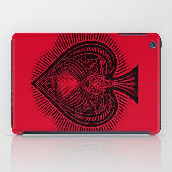 Lucky Spade iPad Case