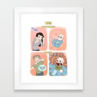 Babies Framed Art Print