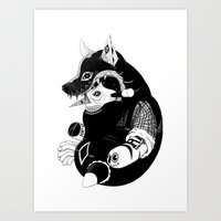 Volf Art Print