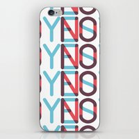 Yes/No iPhone & iPod Skin