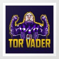 Tor Vader Art Print