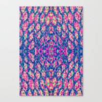 Rivers of color  Canvas Print