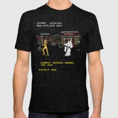 Kill Bill Arcade Game Mens Fitted Tee Tri-Black SMALL