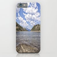 iPhone & iPod Case featuring Colorado Mountains by Angie Johnson