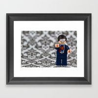 Eye Doctor Fail Framed Art Print