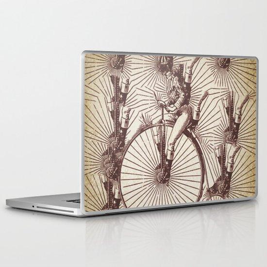 crazy penny Laptop & iPad Skin