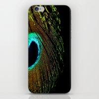 Peacock Feather II iPhone & iPod Skin