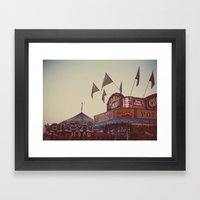 August Nights Framed Art Print