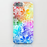 Flying Through Rainbows iPhone 6 Slim Case
