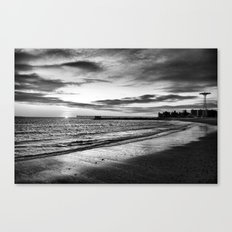 So dark yet so close Canvas Print