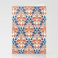 Adobe Damask Stationery Cards