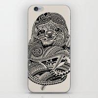 Polynesian Sloth iPhone & iPod Skin