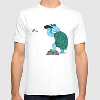 The Tortoise and The Hare Mens Fitted Tee White SMALL
