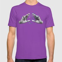 Handy Man Mens Fitted Tee Ultraviolet SMALL