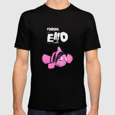 Coupling up (accouplés) Finding Emo Mens Fitted Tee Black SMALL