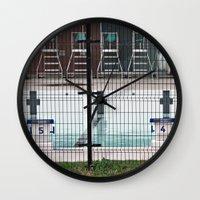 Pool's Closed Wall Clock