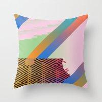 Clrfl Spill Throw Pillow