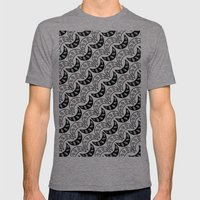 Army of eyes Mens Fitted Tee Tri-Grey SMALL