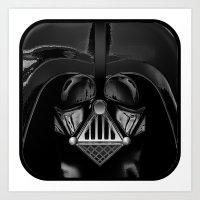 Vader, Darth Vader Art Print