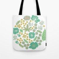 Floral Bloom  Tote Bag