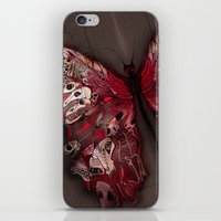 Gothic Butterfly iPhone & iPod Skin