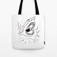 Shark of the Week Tote Bag