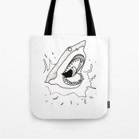 Shark Of The Week Tote Bag