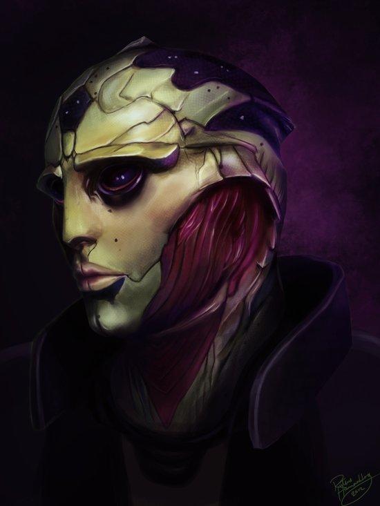 Mass Effect: Thane Krios Art Print