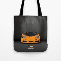 1995 McLaren F1 LM  Tote Bag