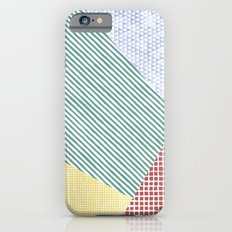 Chalk Patterns Slim Case iPhone 6s
